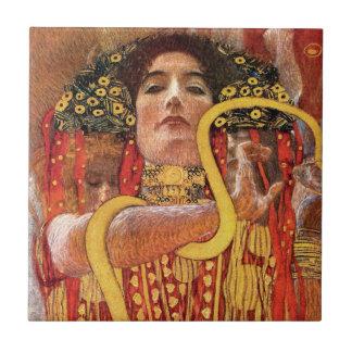 Gustav Klimt - Hygieia Medizin-Göttin der Keramikfliese