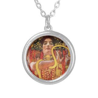 Gustav Klimt - Hygieia Medizin-Göttin der Versilberte Kette