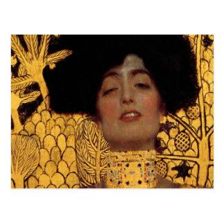 Gustav Klimt Judith und der Kopf von Holofernes Postkarte