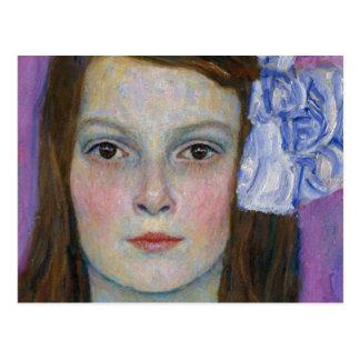 Gustav Klimt Mada Primavesi Postkarte