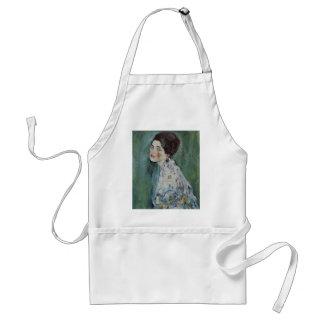 Gustav Klimt - Porträt einer Dame Painting Schürze
