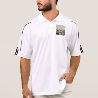 Gustave Caillebotte - Segelboote in Argenteuil Polo Shirt