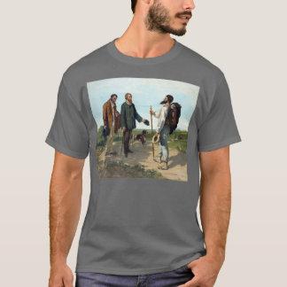 Gustave Courbet-Malen T-Shirt