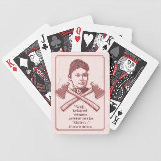 Gut benommener Lizzie 417 Bicycle Spielkarten