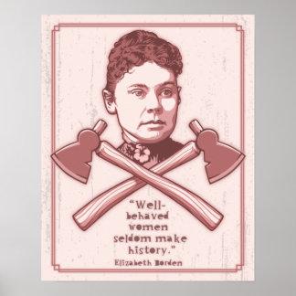 Gut benommener Lizzie Poster