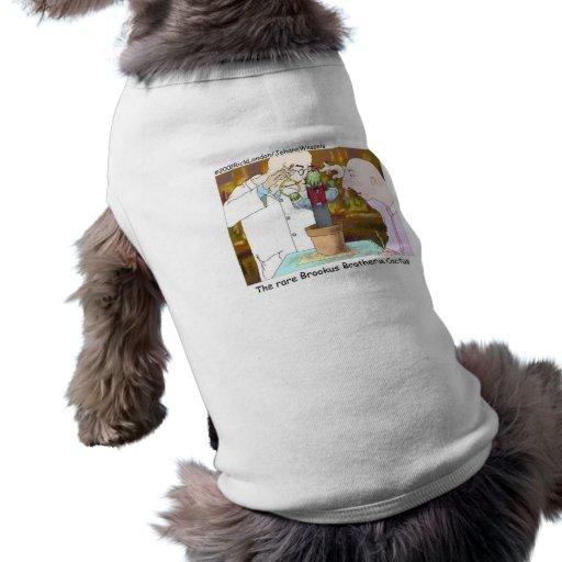 Gut-Gekleidete Kaktus-lustige Geschenke u. Ärmelfreies Hunde-Shirt