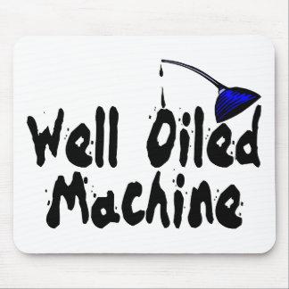Gut geölte Maschine Mousepad