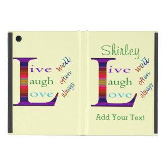 Gut, lebt Lachen häufig, Liebe immer durch STaylor Hülle Fürs iPad Mini