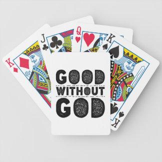 Gut ohne Gott Bicycle Spielkarten