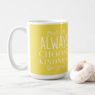 Gut wählen Gelb immer Güte mit Verzierungen Kaffeetasse
