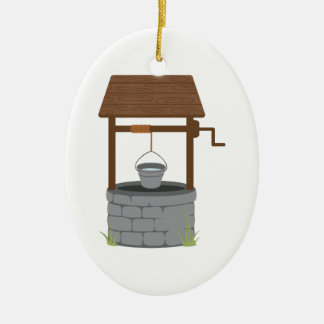 Gut wünschen keramik ornament