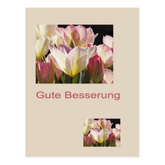 Gute Besserung Postkarte