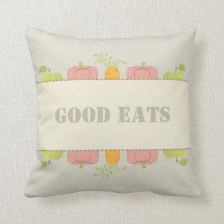 Gute die gute Nahrung und guten Kissen