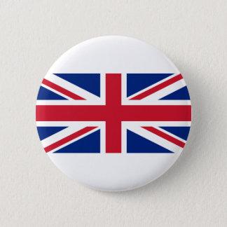 Gute Farbebritische Königreich-Flagge Runder Button 5,7 Cm