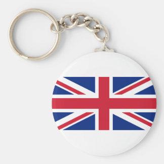 Gute Farbebritische Königreich-Flagge Schlüsselanhänger