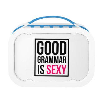 Gute Grammatik ist sexy Brotdose