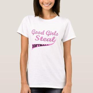 Gute Mädchen stehlen (rosa städtische) T-Shirt