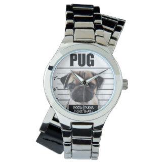 gute Möpse schlecht gegangen Armbanduhr