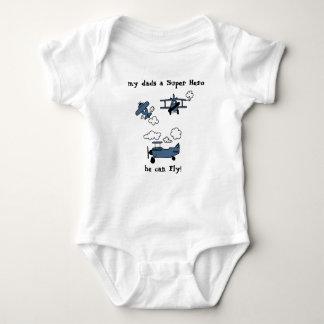 Gute Nachtabgelegener Baby Strampler