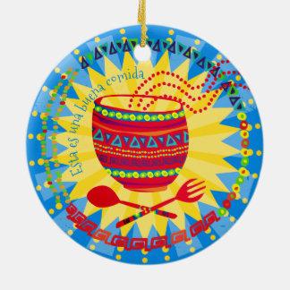Gute Nahrungmexikanische kulinarische Keramik Ornament
