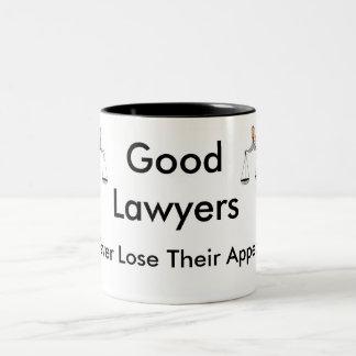 Gute Rechtsanwälte verlieren nie ihre Berufung Kaffeetassen