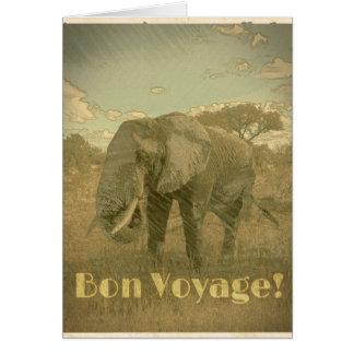 Gute Reise, Elefantkarte Karte