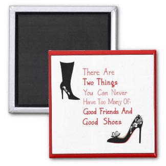 Gute Schuhe Quadratischer Magnet