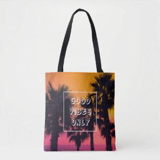"""""""Gute Schwingungens-nur"""" tropischer Tasche"""