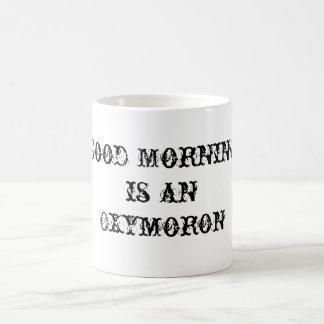 Guten Morgen Kaffeetasse