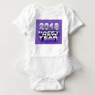 Guten Rutsch ins Neue Jahr 2018 Baby Strampler