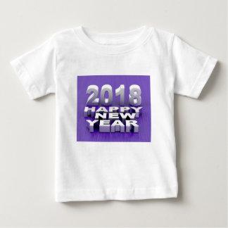 Guten Rutsch ins Neue Jahr 2018 Baby T-shirt