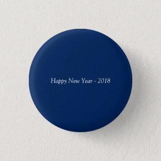 Guten Rutsch ins Neue Jahr 2018 Runder Button 3,2 Cm