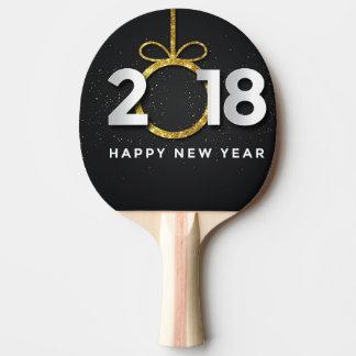 guten Rutsch ins Neue Jahr 2018 Tischtennis Schläger