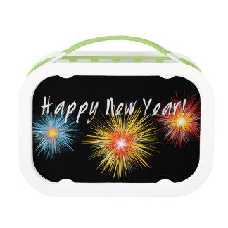 Guten Rutsch ins Neue Jahr-Feuerwerk Brotdose