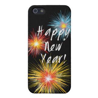Guten Rutsch ins Neue Jahr-Feuerwerk iPhone 5 Etui