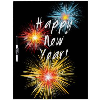 Guten Rutsch ins Neue Jahr-Feuerwerk Memoboard