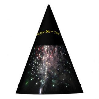 Guten Rutsch ins Neue Jahr-Feuerwerke Partyhütchen