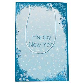 Guten Rutsch ins Neue Jahr-Geschenk-Tasche Medium Geschenktüte