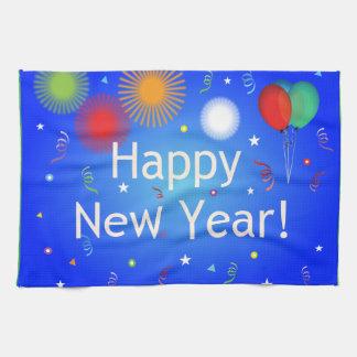 Guten Rutsch ins Neue Jahr Handtuch
