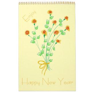 Guten Rutsch ins Neue Jahr-Kalender Abreißkalender