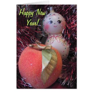 Guten Rutsch ins Neue Jahr Karte