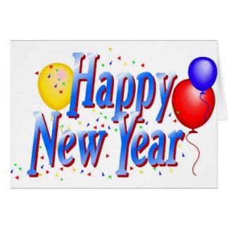 Guten Rutsch ins Neue Jahr! Karte