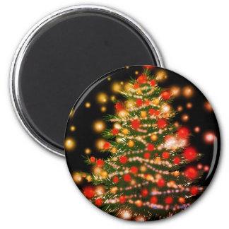 Guten Rutsch ins Neue Jahr-Magnet Runder Magnet 5,7 Cm