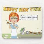 Guten Rutsch ins Neue Jahr! Mauspads