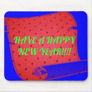 Guten Rutsch ins Neue Jahr-Mausunterlage Mousepad
