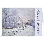 Guten Rutsch ins Neue Jahr mit Claude Monet - Karten