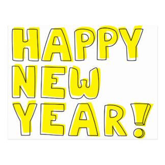 Guten Rutsch ins Neue Jahr! Postkarten