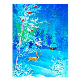Guten Rutsch ins Neue Jahr Postkarte
