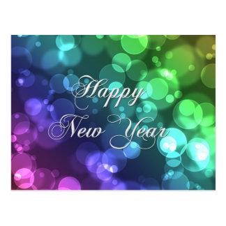Guten Rutsch ins Neue Jahr-Postkarte Postkarte