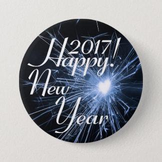 Guten Rutsch ins Neue Jahr! Runder Button 7,6 Cm